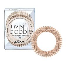 <b>INVISIBOBBLE</b> - <b>Slim Bronze Me</b> Pretty (3 pack) – Lela Loves Ltd