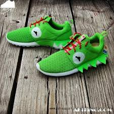"Nike Roshe Run ""Kermit Memes"" Custom by GourmetKickz 
