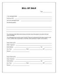 Watercraft Bill Of Sale Personal Watercraft Bill Of Sale Template Shipwright