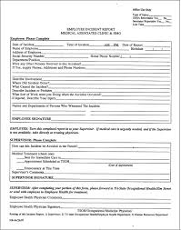 Medical Incident Report Template Mwb Online Co