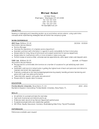 Automotive Service Advisor Resume