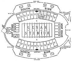 Keenan Stadium Seating Chart File Kenan Memorial Stadium 1961 Seating Chart Jpg