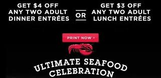 Printable Coupons And Deals Getting Lunch Head To Red Lobster And