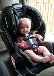 graco extend2fit 3 in 1 car seat with 6