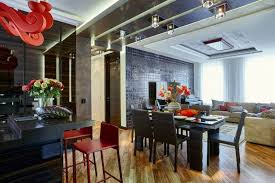 ContemporaryStyle Family Interior In Brownish Hues Home Interior Adorable Interior Designer Homes Set