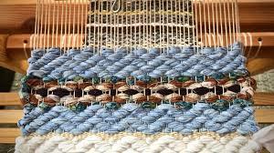 rosepath detail in mini rag rugs making hot pads