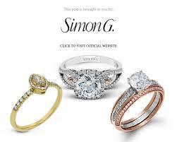 simon g jewelry 2017 halo diamond enement ring white gold yellow gold rose gold