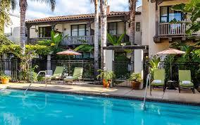 spanish garden inn hotel review santa barbara california telegraph travel