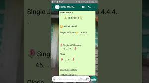 Milan Night 18 07 2019 Single Open Pass 4 4 4 4jodi Running Hi Bikki Matka