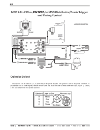 msd ignition wiring diagrams msd 7al 2 plus to msd distributor crank trigger timing control