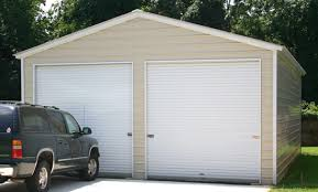 garage door for shed24x36 vertical roof metal garage  Alans Factory Outlet