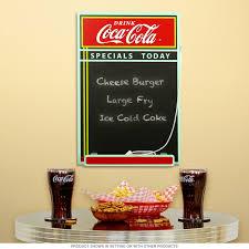 Coca-Cola Specials Today Kitchen Chalkboard