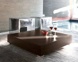 image of modern square coffee table low square