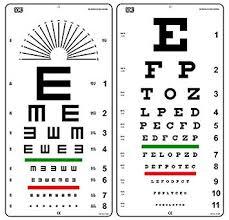 Snellen Chart Dimensions Amazon Com Snellen And Tumbling E Non Reflective Matte