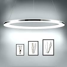 ring pendant light ring pendant light modern led diameter acrylic stainless steel lamp for living dinning room verre ring glass pendant lamp