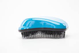 <b>Расческа для распутывания волос</b> 12х8см синяя