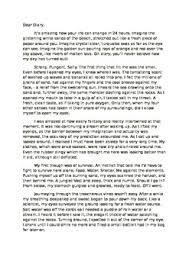 beach descriptive writing example by cheryls classroom treats tpt beach descriptive writing example