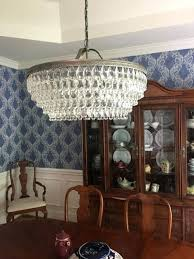clarissa chandelier pottery barn glass drop medium round crystal chandelier pottery barn clarissa chandelier instructions