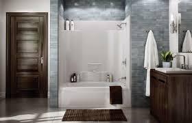 one piece fiberglass tub shower fresh diy bathtub wall surround claw foot tub installation surround