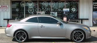 infiniti g37 white with black rims. giovanna mecca rims in a 2007 infiniti g37 coupe white with black 5