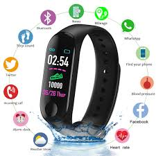 <b>Fitness</b> Tracker <b>Smart Bracelet</b> Blood Pressure Heart Rate Monitor ...