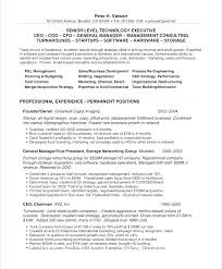 Resume Employment History Examples