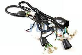 chinese gy6 50cc wire harness wiring assembly scooter moped sunl sunl 50cc atv wiring harness at Sunl Wiring Harness