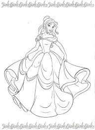 Princess Coloring Disney Coloring Pages Disney