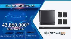 Dàn âm thanh Bose 500 5.1 - Âm thanh hay
