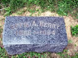 Effie A. Berry (1866-1954) - Find A Grave Memorial