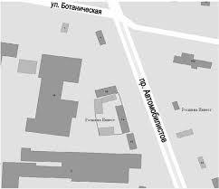 Отчет по практике Организация технического обслуживания и  Рис 2 Расположение зданий Росшина Инвест