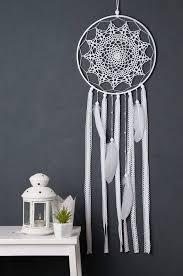Do Dream Catchers Bring Bad Spirits Interesting White Dream Catcher Wedding Dream Catcher Crochet Doily