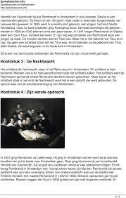 Rembrandt Van Rijn Hoofdstuk 1 Rembrandt Zijn Eerste Jaren Pdf