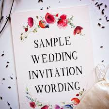 Wedding Wording Samples And Ideas For Indian Wedding Invitations