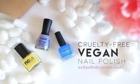 vegan nail polish great news canadians