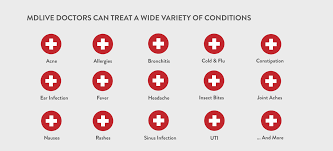 mdlive mdlive doctors can treat a wide variety of conditions