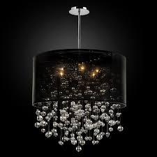 glow lighting chandeliers. Glow Lighting Chandeliers. Drum Shaded Crystal Bead Pendant Silhouette 590 By Glow® Lighting. Chandeliers