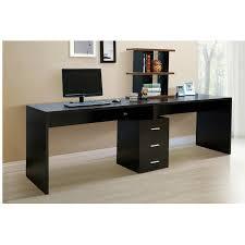 extraordinary long black computer desk 90 about remodel pictures with long black computer desk