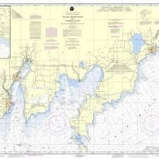 Little Bay De Noc Depth Chart Noaa Chart 14908 Dutch Johns Point To Fishery Point Including Big Bay De Noc And Little Bay De Noc Manistique