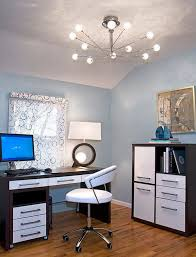 inspiring home office contemporary. View In Gallery Attractive And Bright Modern Inspiring Home Office Contemporary N