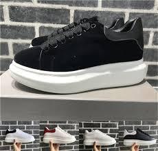 <b>Velvet</b> Black <b>Mens</b> Womens <b>Casual Shoe</b> Beautiful Platform <b>Casual</b> ...