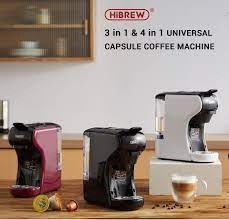 Multi-Function 3-1 Coffee Machine (Nespresso, Dolce Gusto and Ground Coffee)  - HiBrew Coffee Machine (Purple): Buy Online at Best Price in UAE -  Amazon.ae