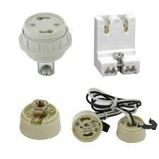 fluorescent lamp sockets