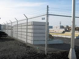 Decorative Security Fencing Commercialgalvanizedchainlink2jpg