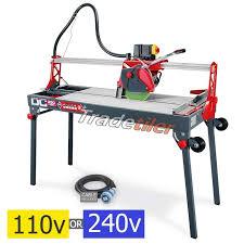 rubi dc 250 1200 wet bridge saw electric tile cutter select voltage