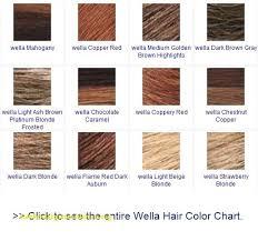 Wella Tango Color Chart Wella Color Tango Chart Www Bedowntowndaytona Com