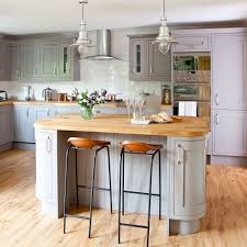 bring warmth with wood flooring and work surfaces grey kitchen ideas 1