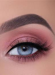 65 pretty eye makeup looks pink eye