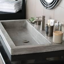 trough 3619 nativestone bathroom trough sink native trails