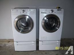 lg tromm dryer. Lg Tromm He Washer Gas Dryer With Pedestals Manual Dle9577sm